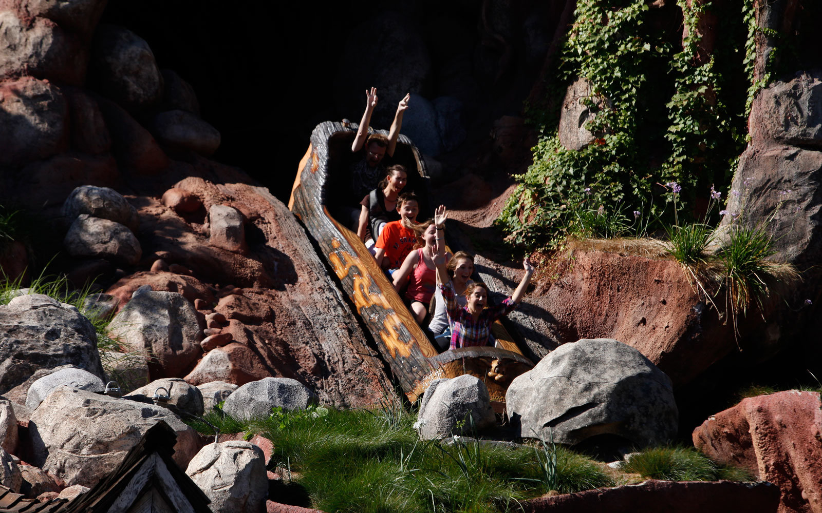 Splash Mountain ride