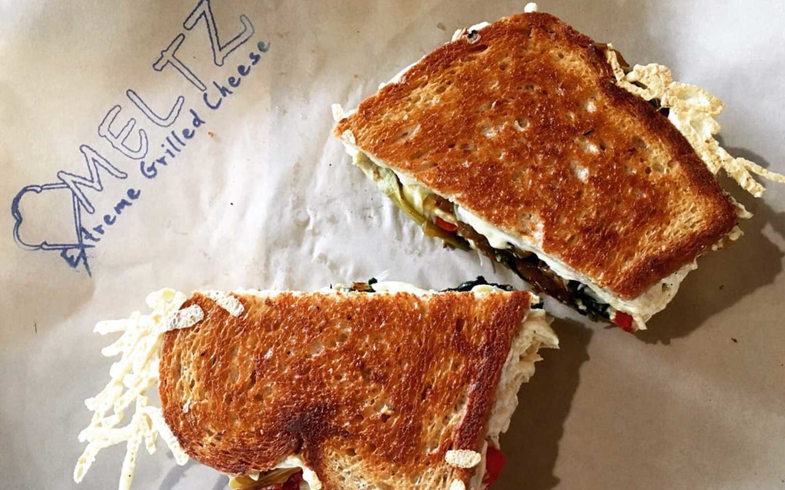 Meltz Extreme Grilled Cheese