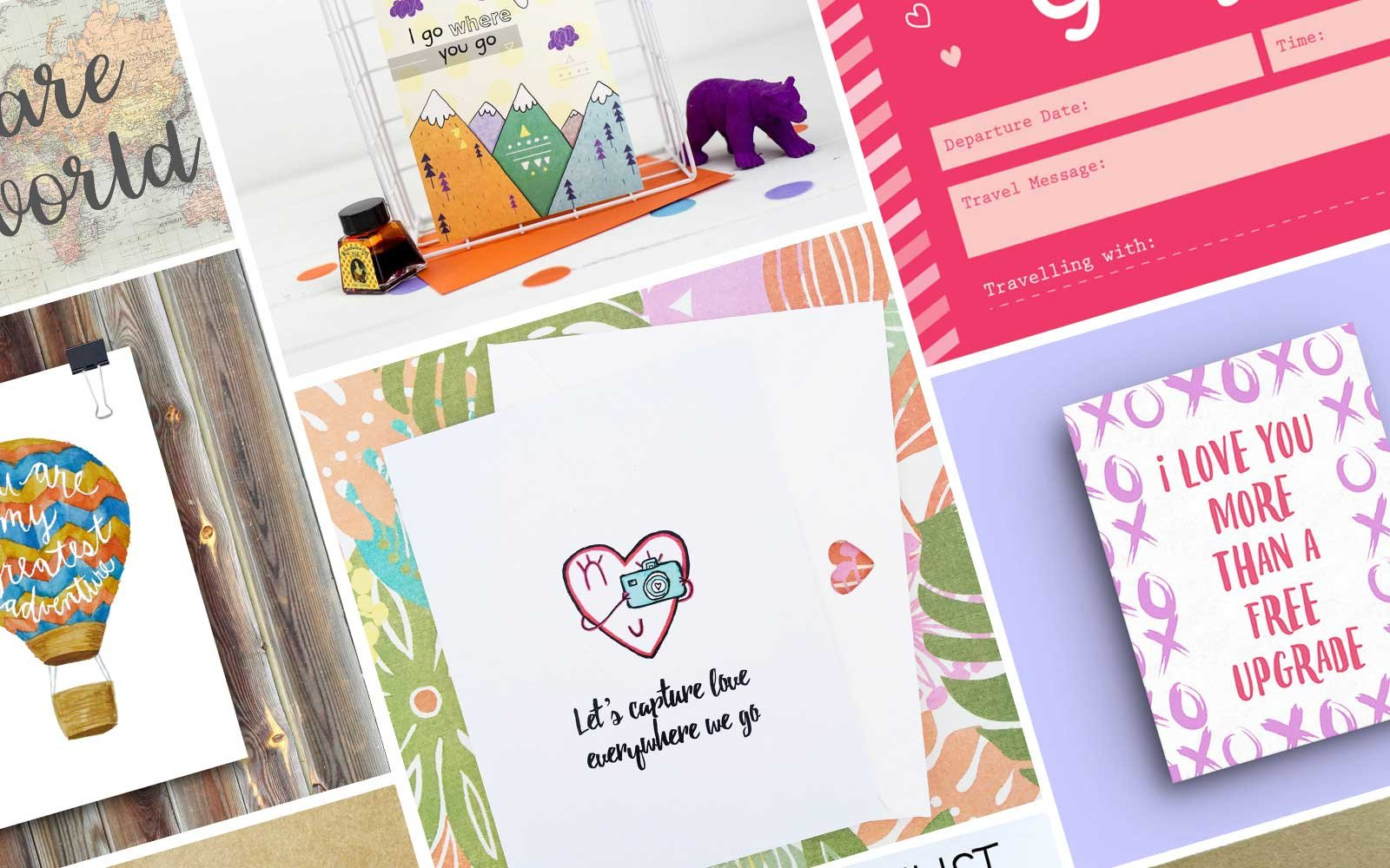 12 Cute Valentine\'s Day Cards for Your Favorite Travel Buddy ...