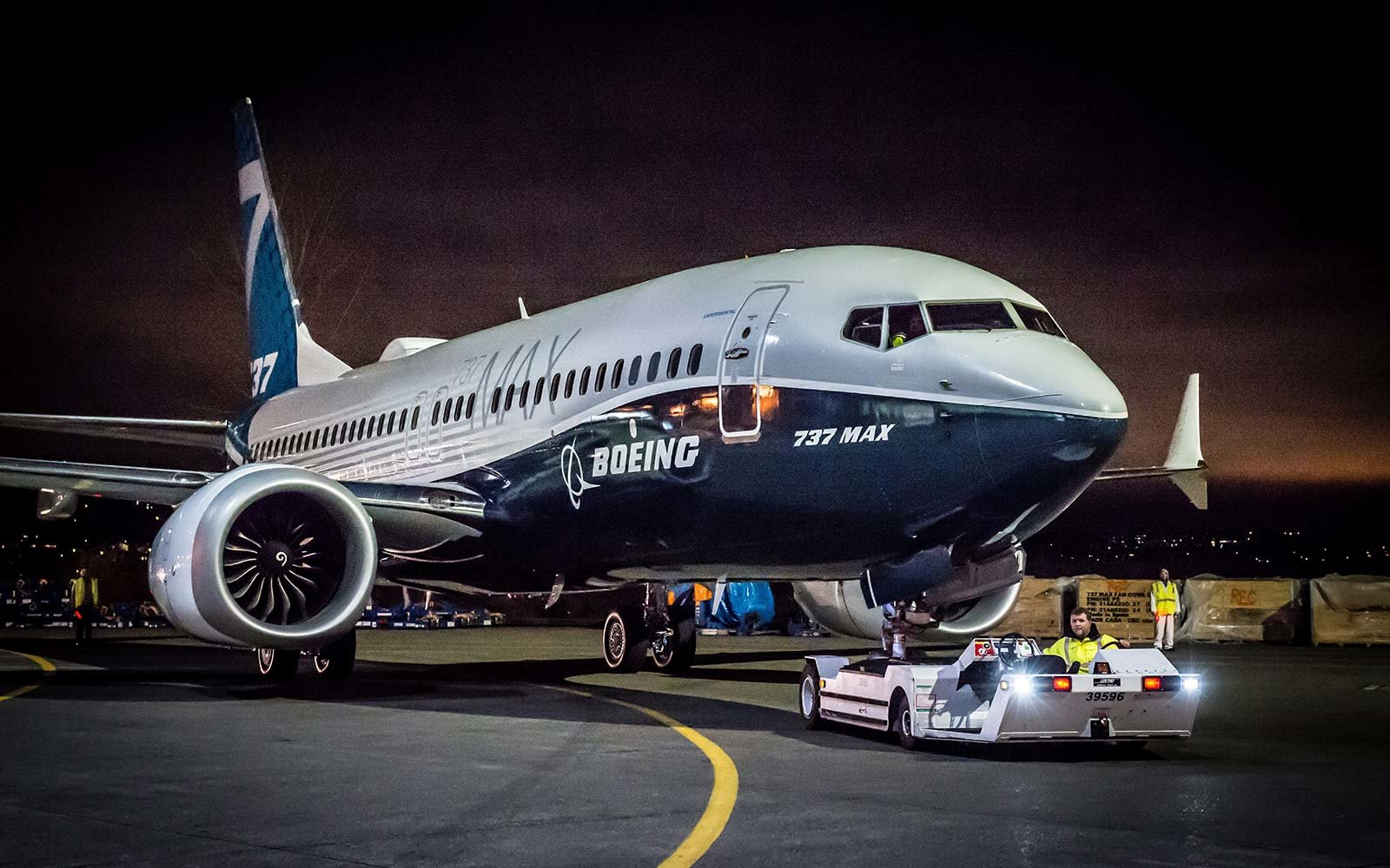 Boeing 737-MAX Airplane Launched