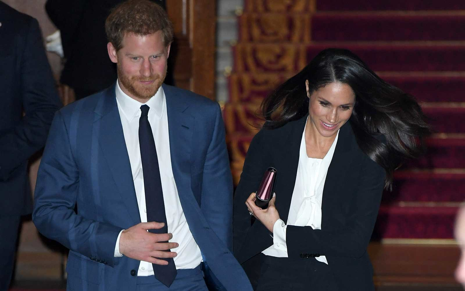 Prince Harry an Meghan Markle