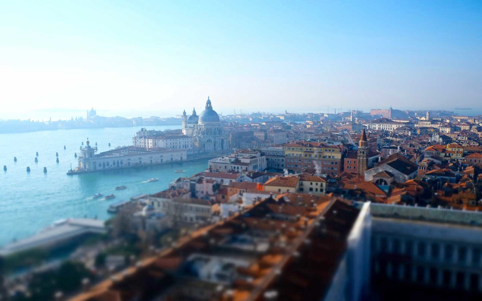 Views of Venice and Grand Canal, Venice, Veneto, Italy