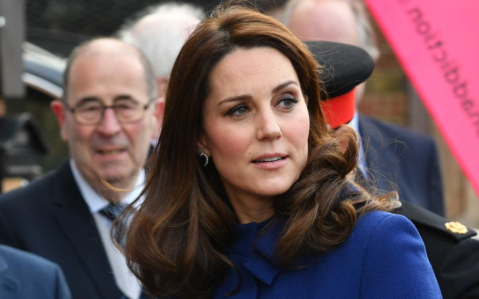 The Duchess of Cambridge arrives to open an Action on Addiction treatment centre in Wickford, Essex