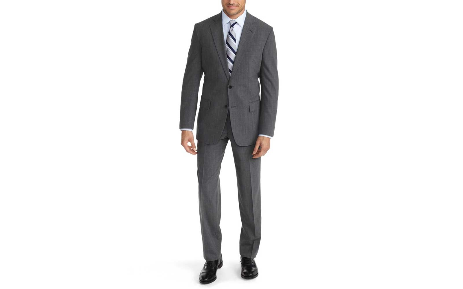 Brooks Brothers travel suit