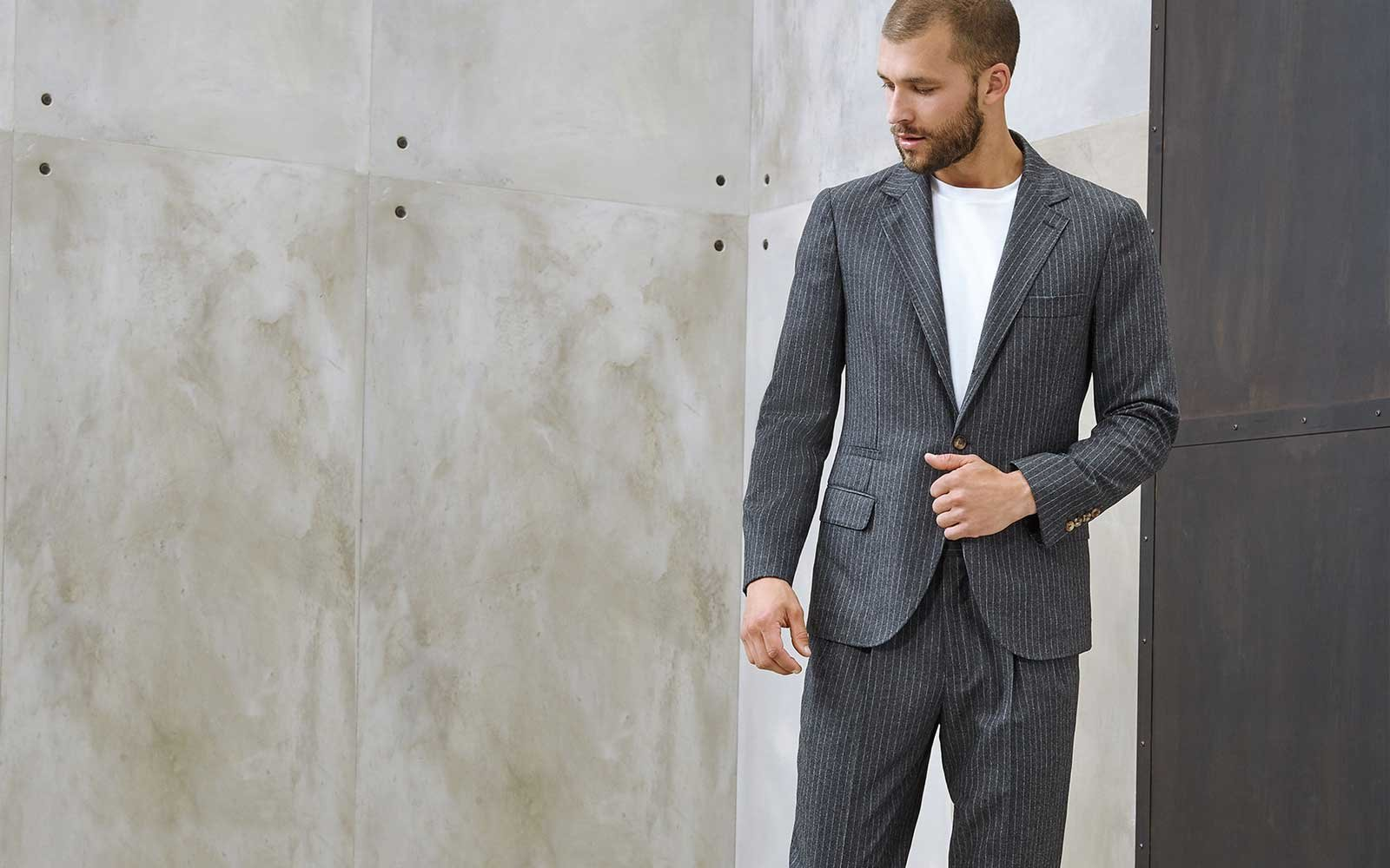 brunello cucinelli travel suit