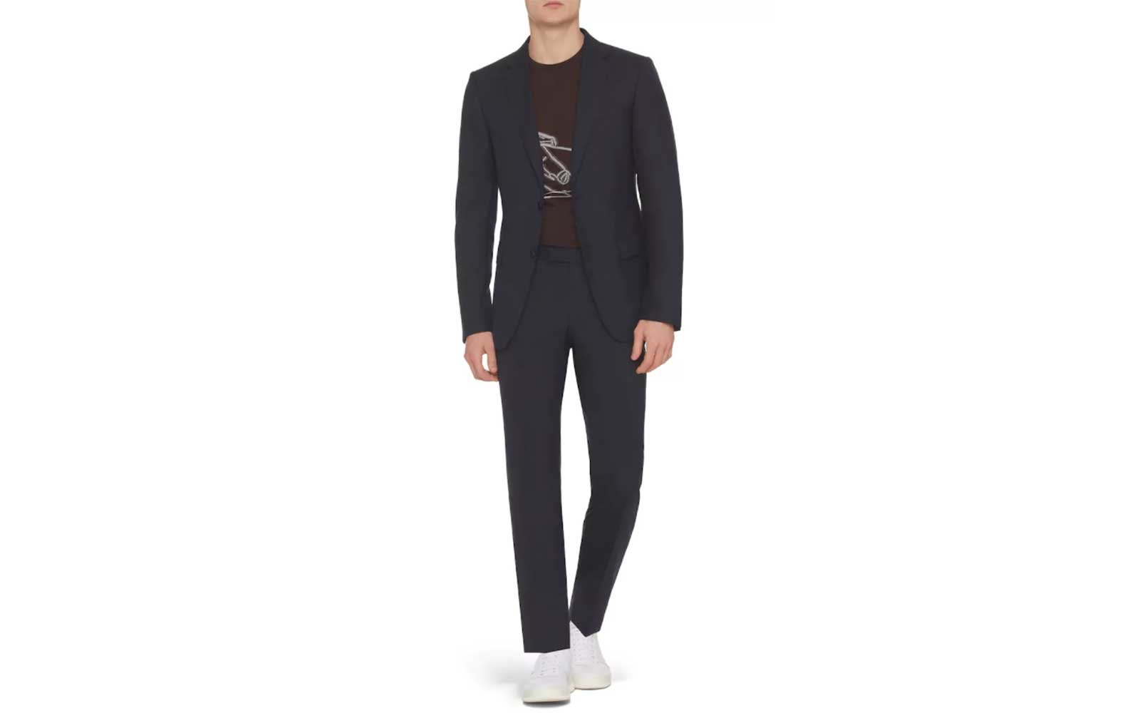 Z Zegna travel suit