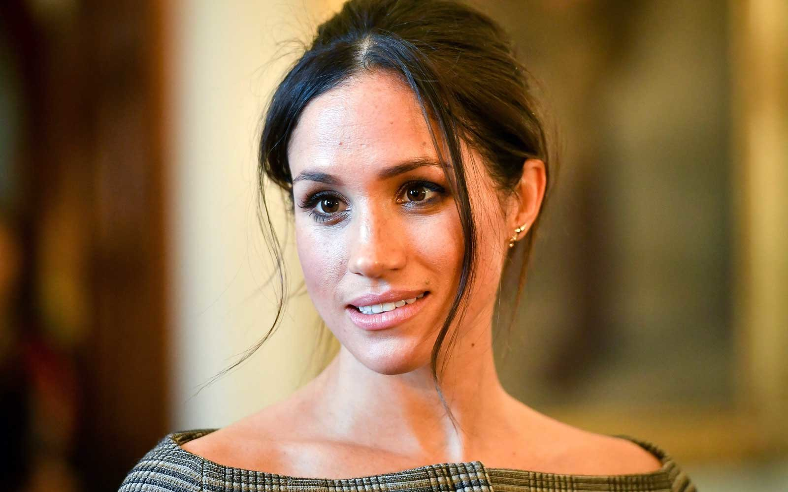 Meghan Markle at Cardiff Castle