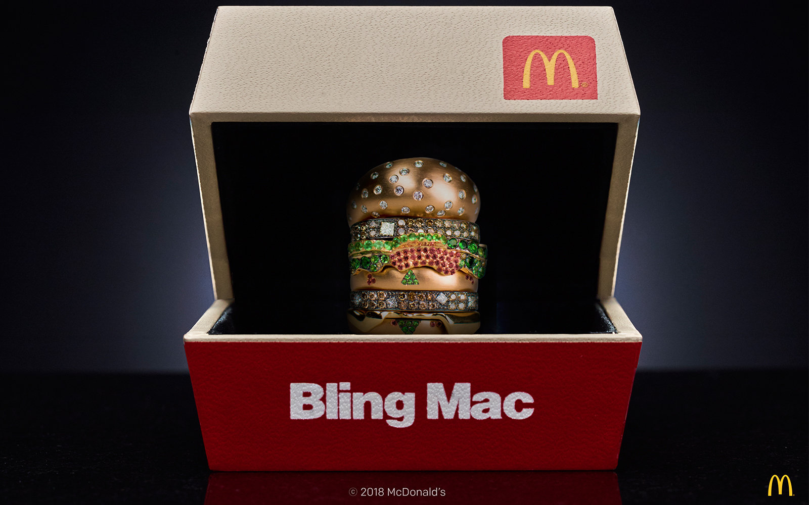 McDonald's Bling Mac Ring Contest
