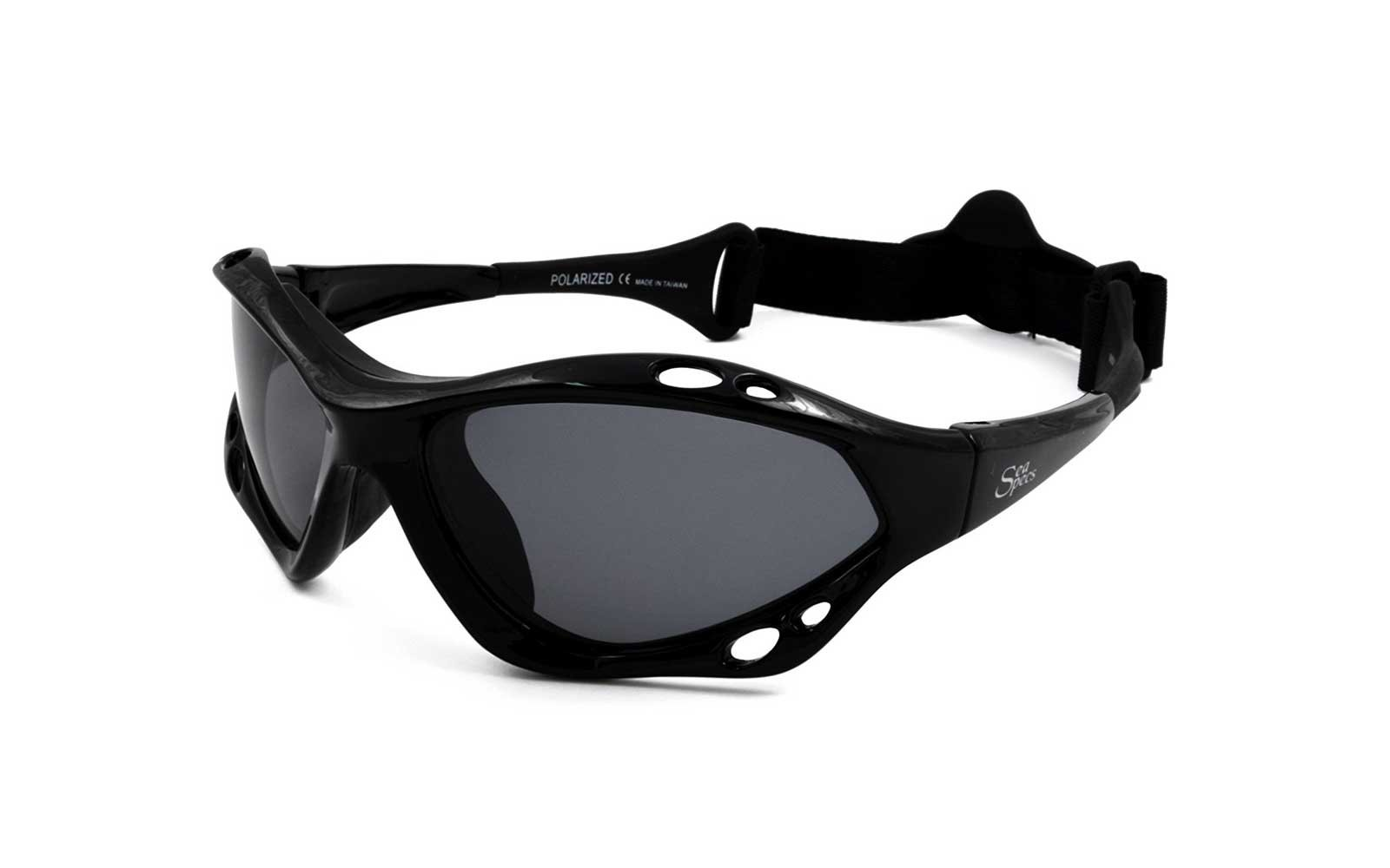 SeaSpecs 'Black Jet' Sunglasses