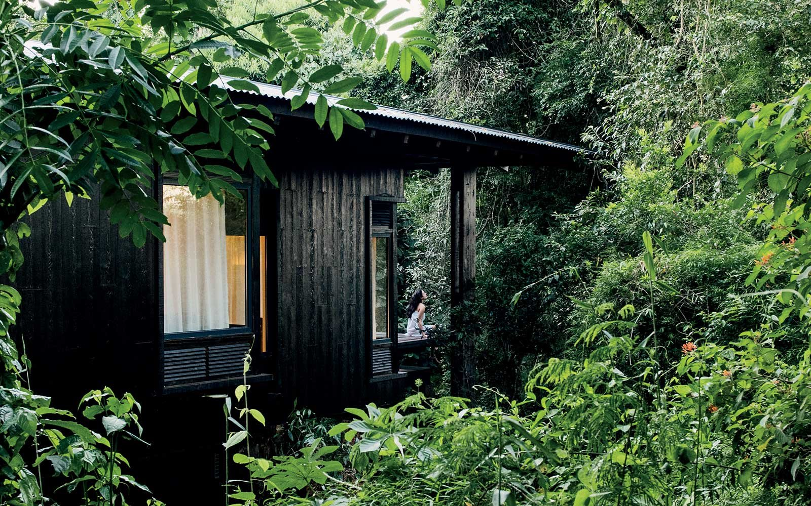 Private cabin at the Awasi Iguazu Falls