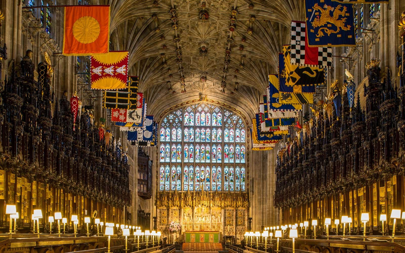 Inside Romantic St George S Chapel Where Prince Harry And