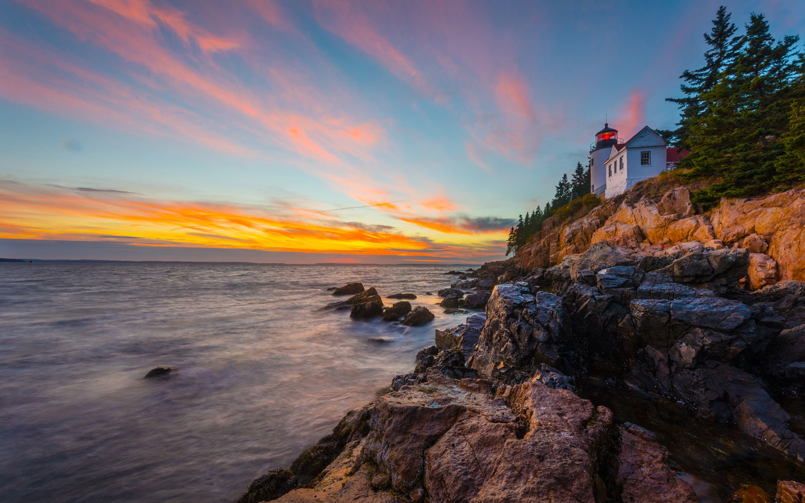 Acadia National Park, Maine, Bass Harbor Lighthouse