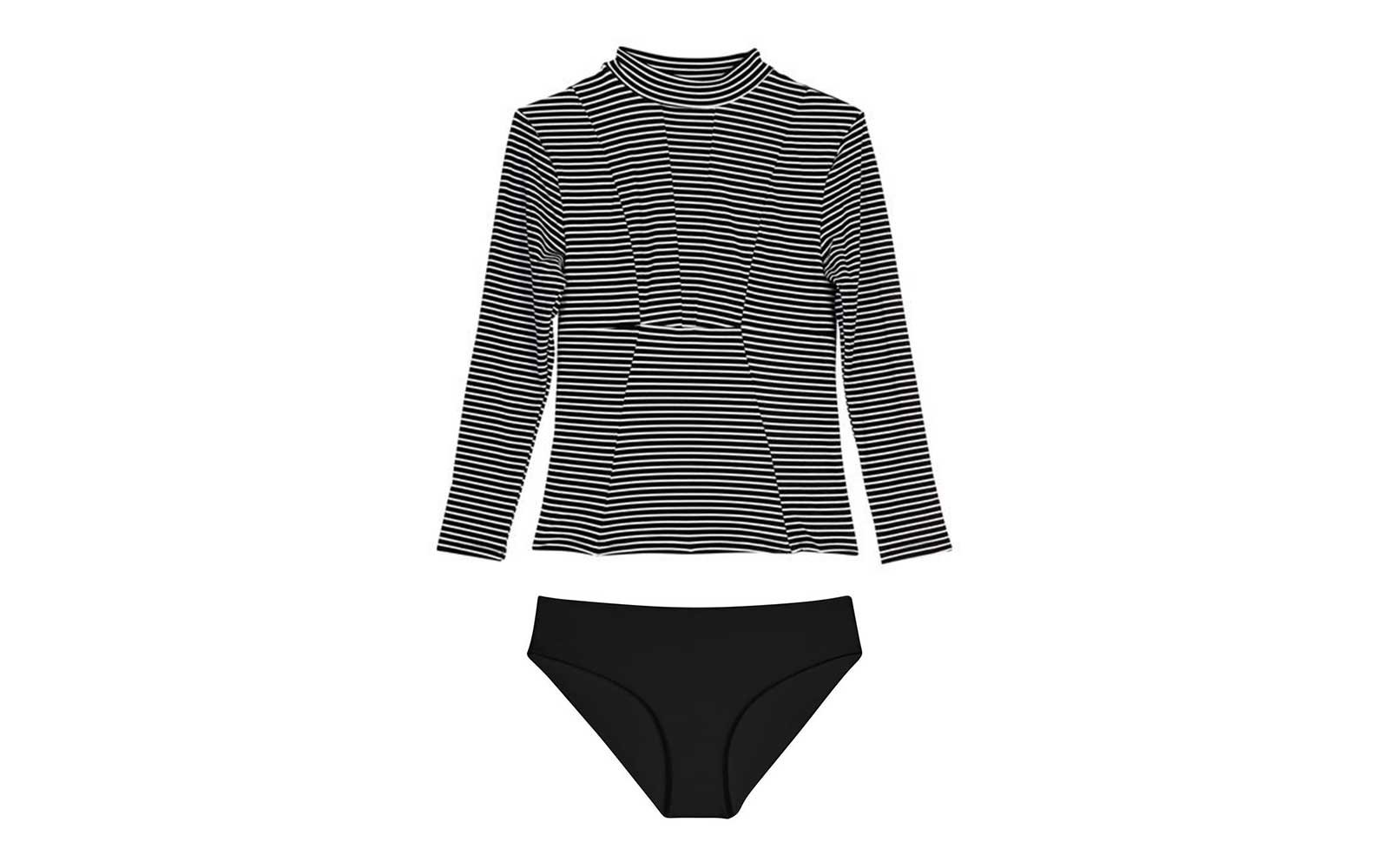 mikoh long sleeve swimsuit