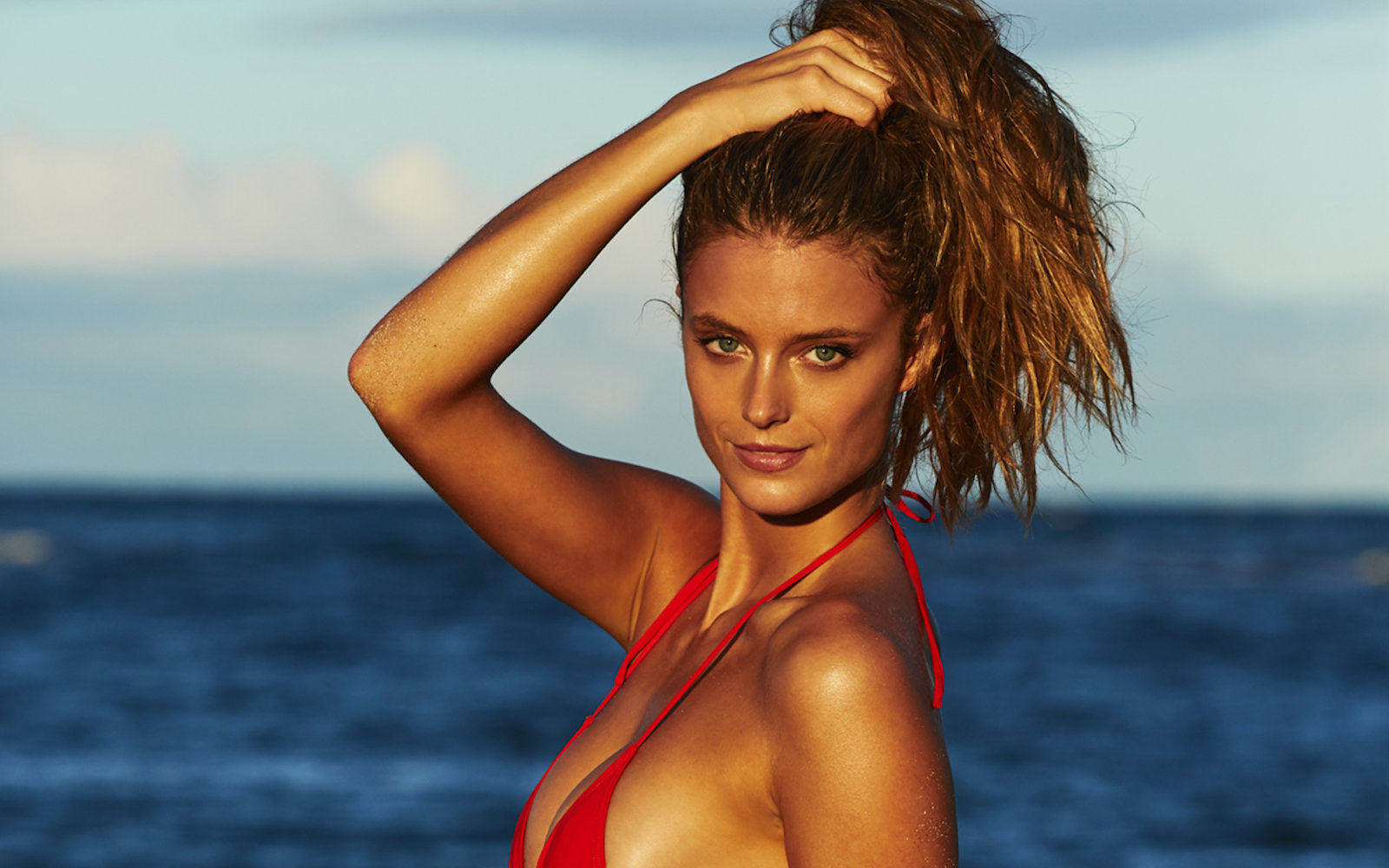 kate bock illustrated swimsuit sports si issue swimsuits beach title