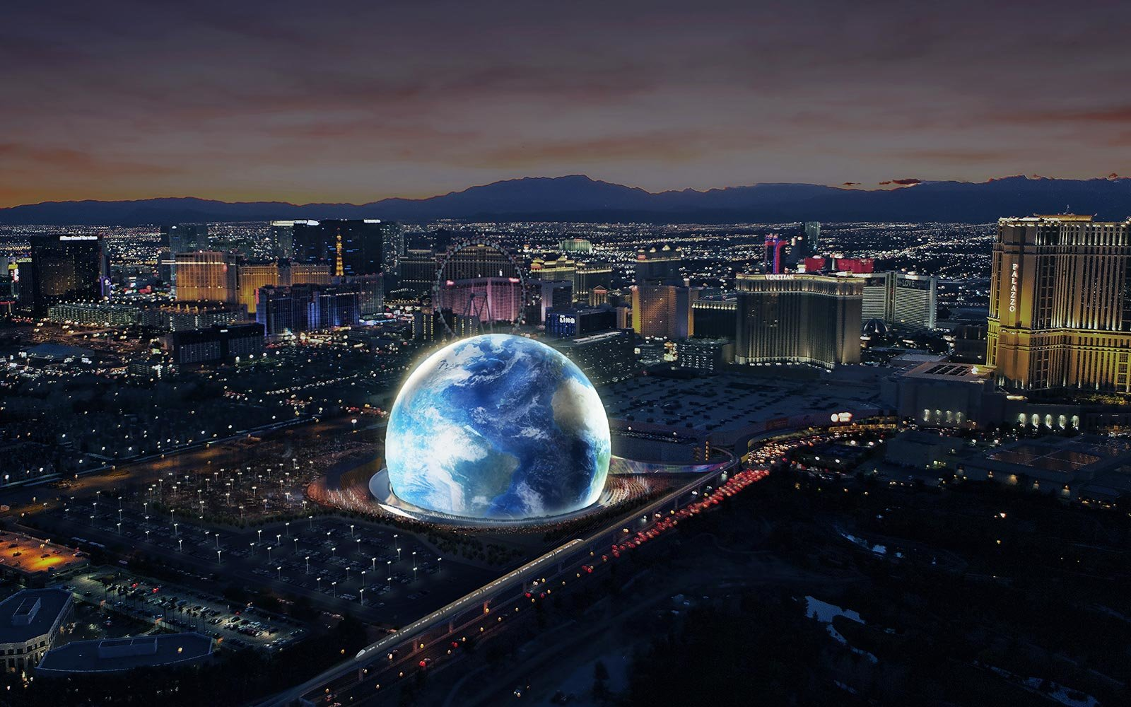 A Giant Space Orb Concert Venue Is Coming To Las Vegas In