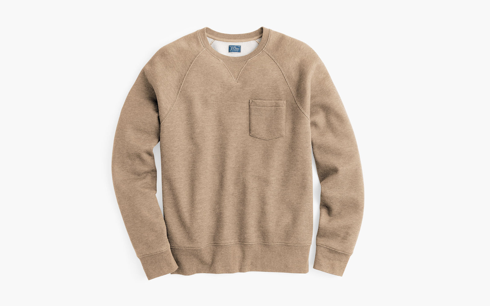 Men's Textured Crewneck