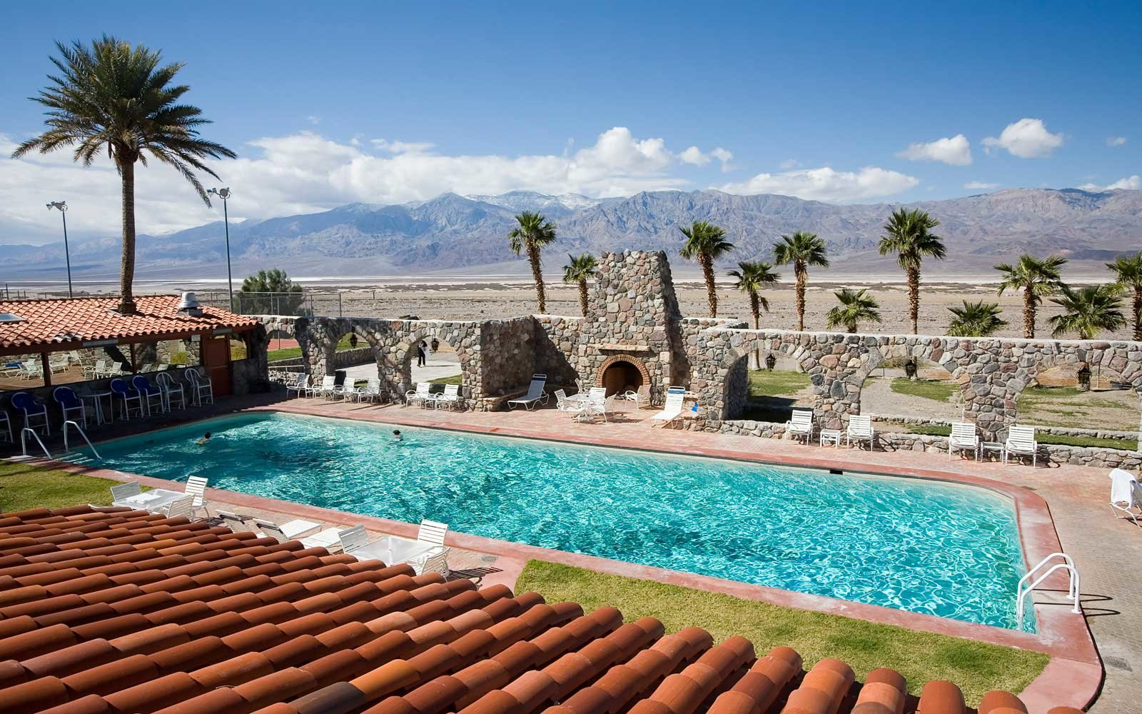 Oasis Resort in Death Valley