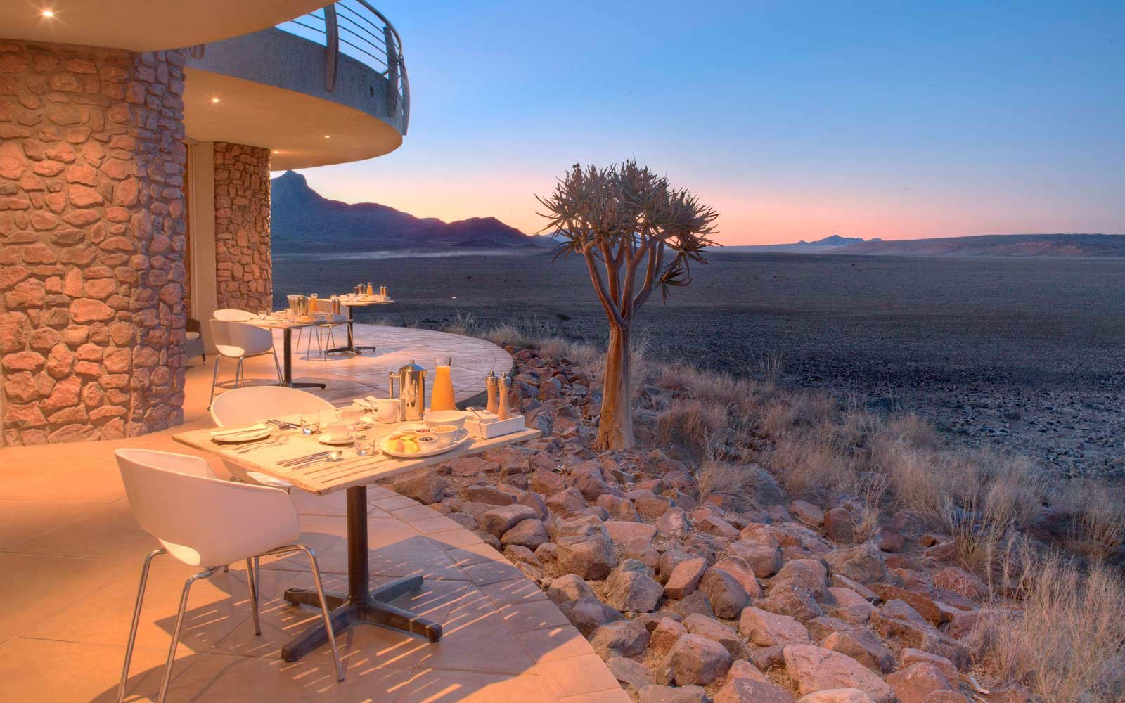 Sussusvlei Desert Lodge in Namibia
