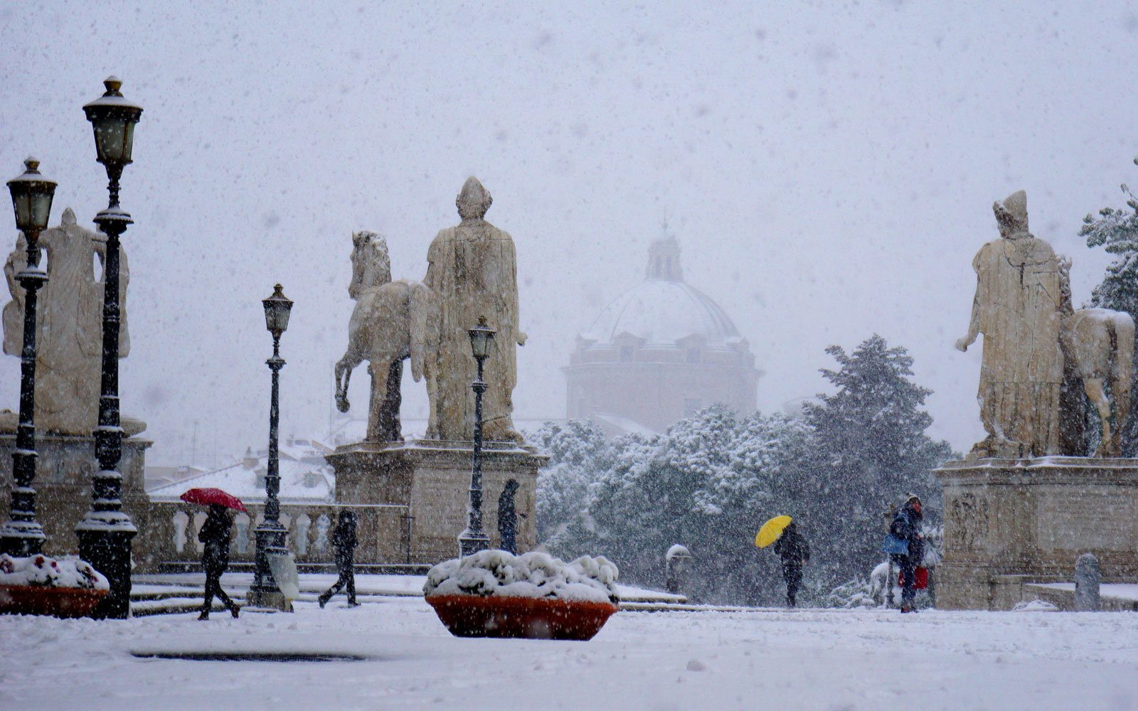 rome snow capitol hill