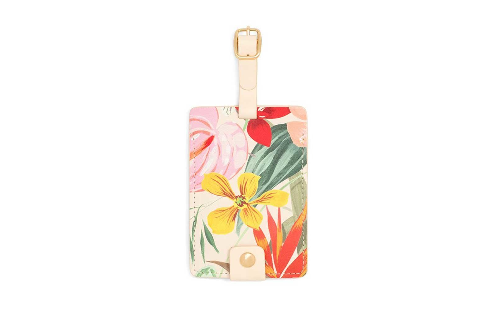 Ban.do Floral-print Luggage Tag