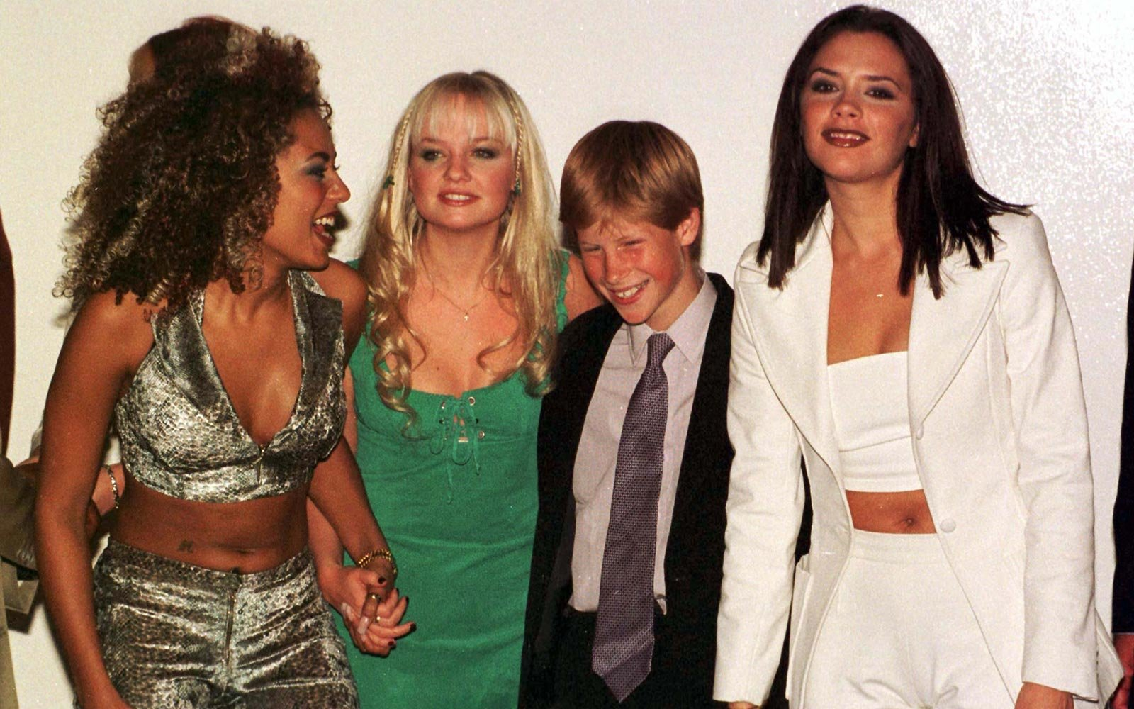 Prince Harry Spice Girls Concert
