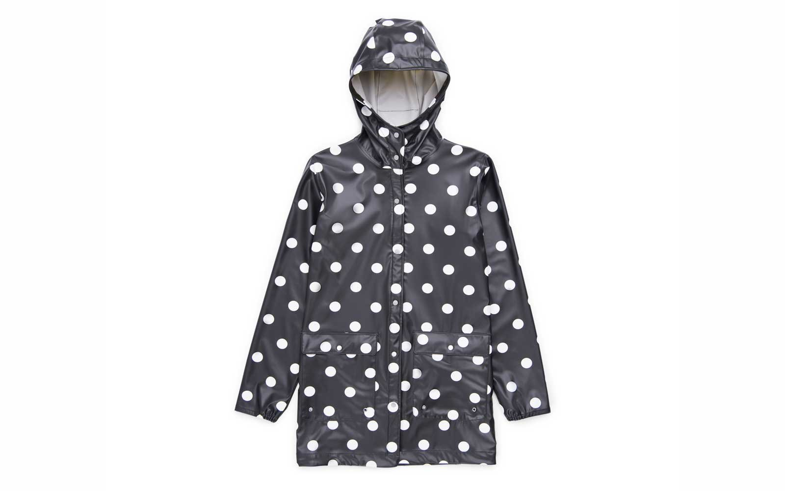 herschel packable rain jacket