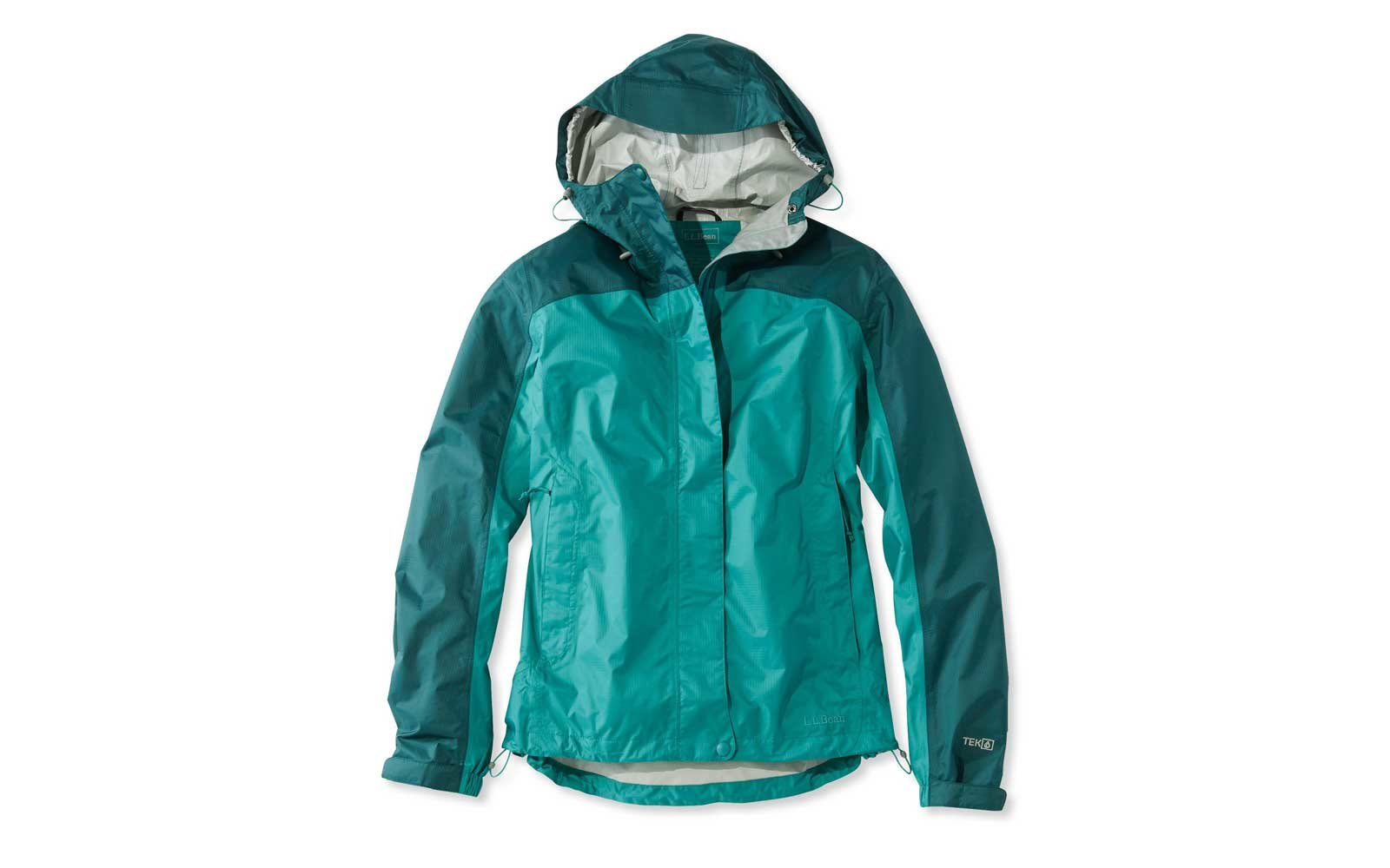 llbean packable rain jacket