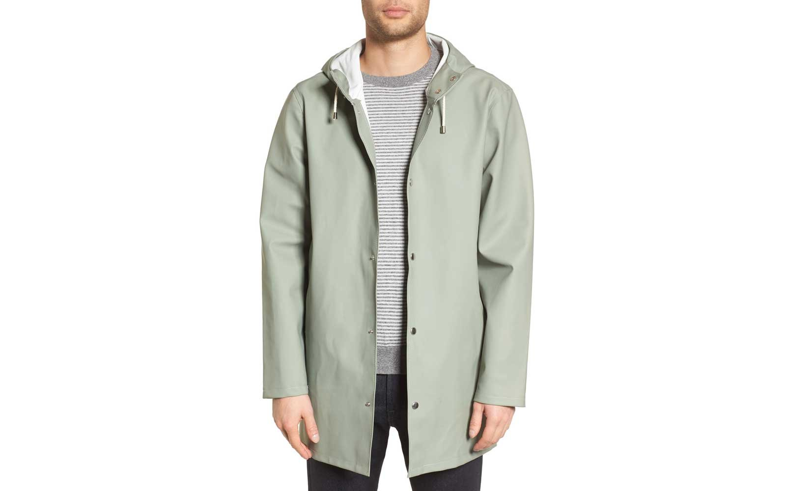 stutterheim packable rain jacket