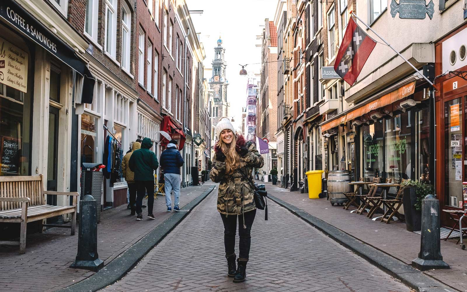 Stacey in Amsterdam