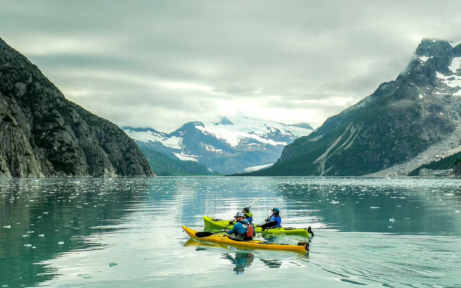 Liquid Adventures Glacier Kayaking Northwestern Fjords