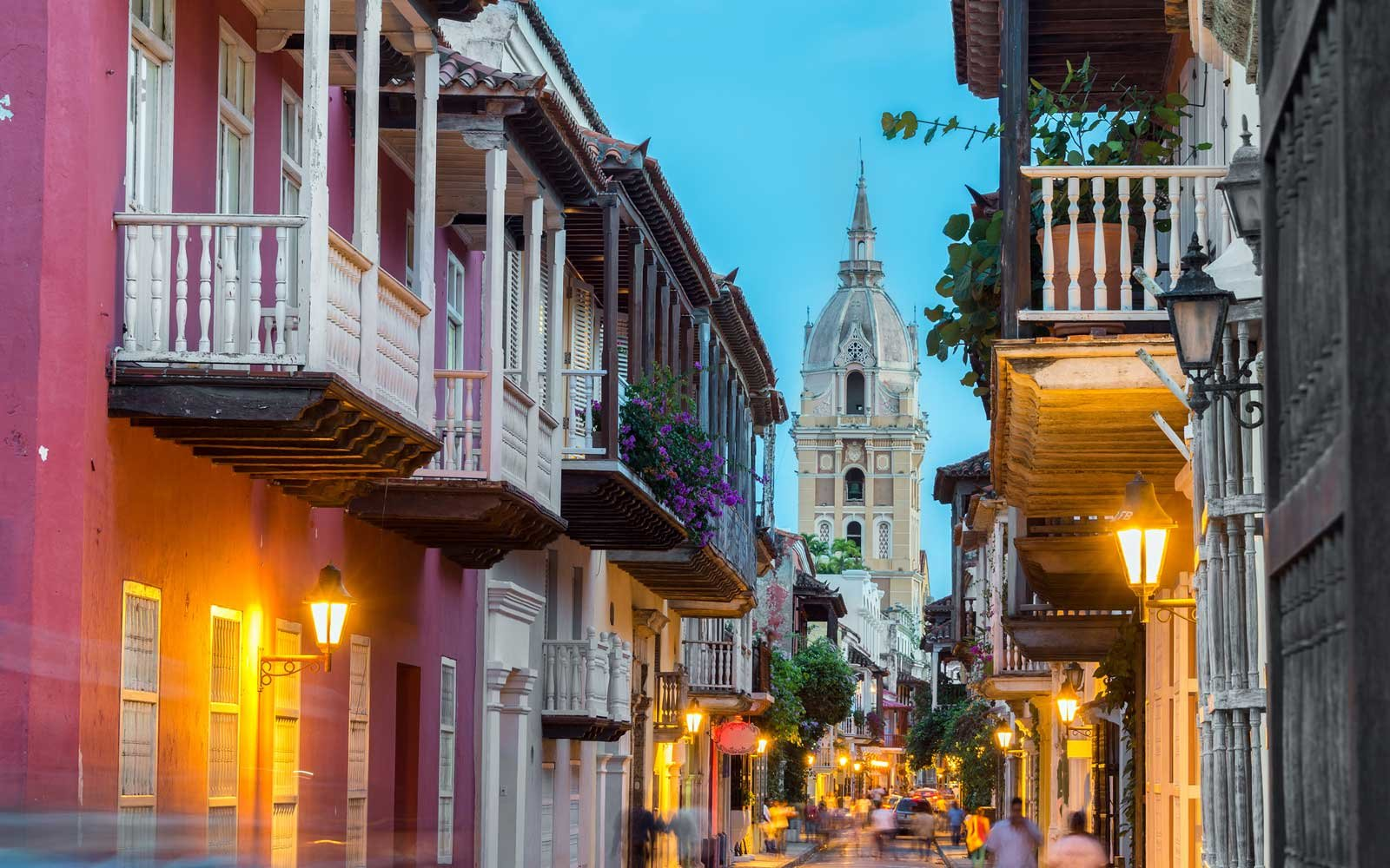 cartagena colombia old city