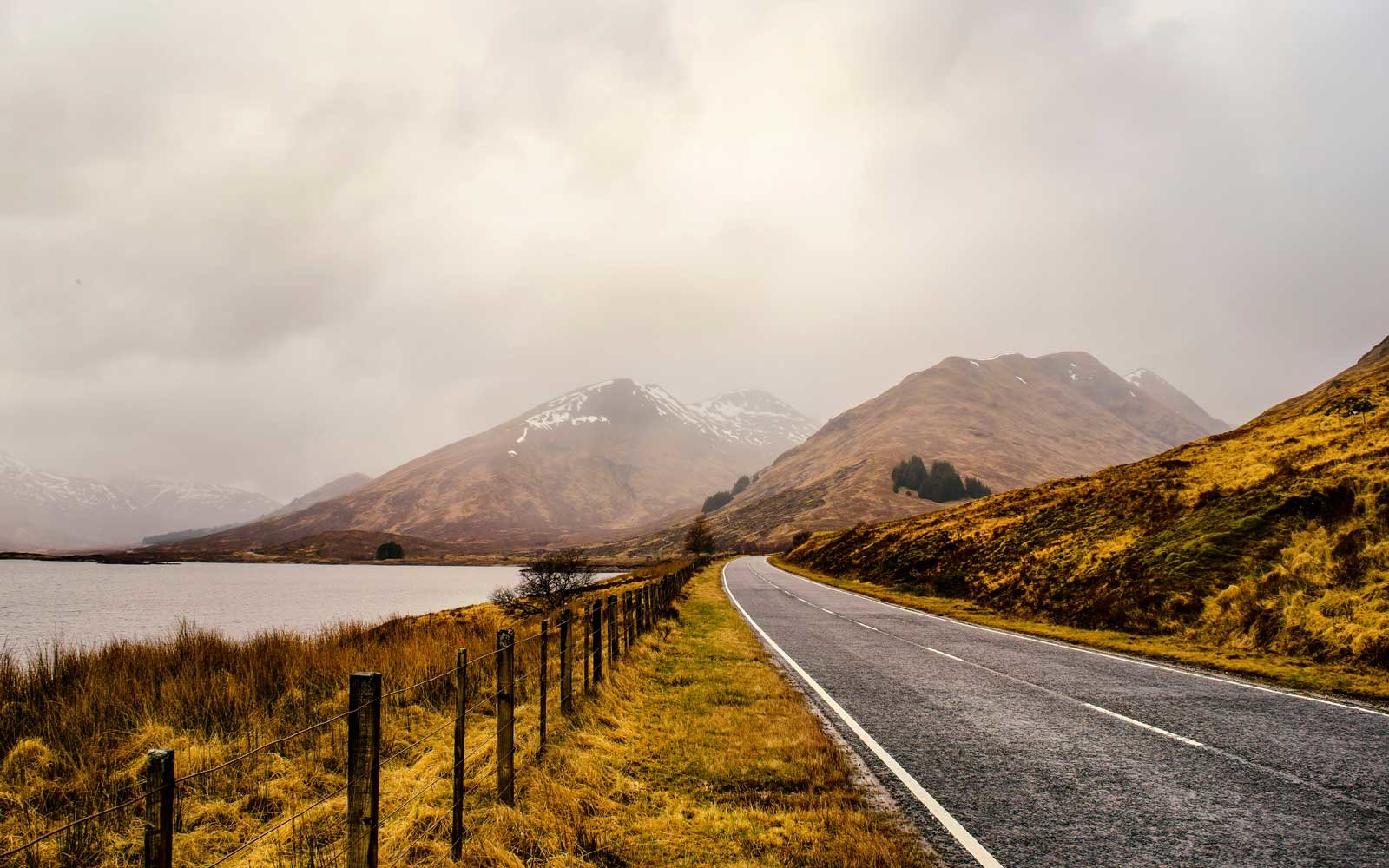 A Drive Through the Scottish Highlands Brings You Face to Face With Ancient Ruins, Nessie's Home, and Plenty of Sheep