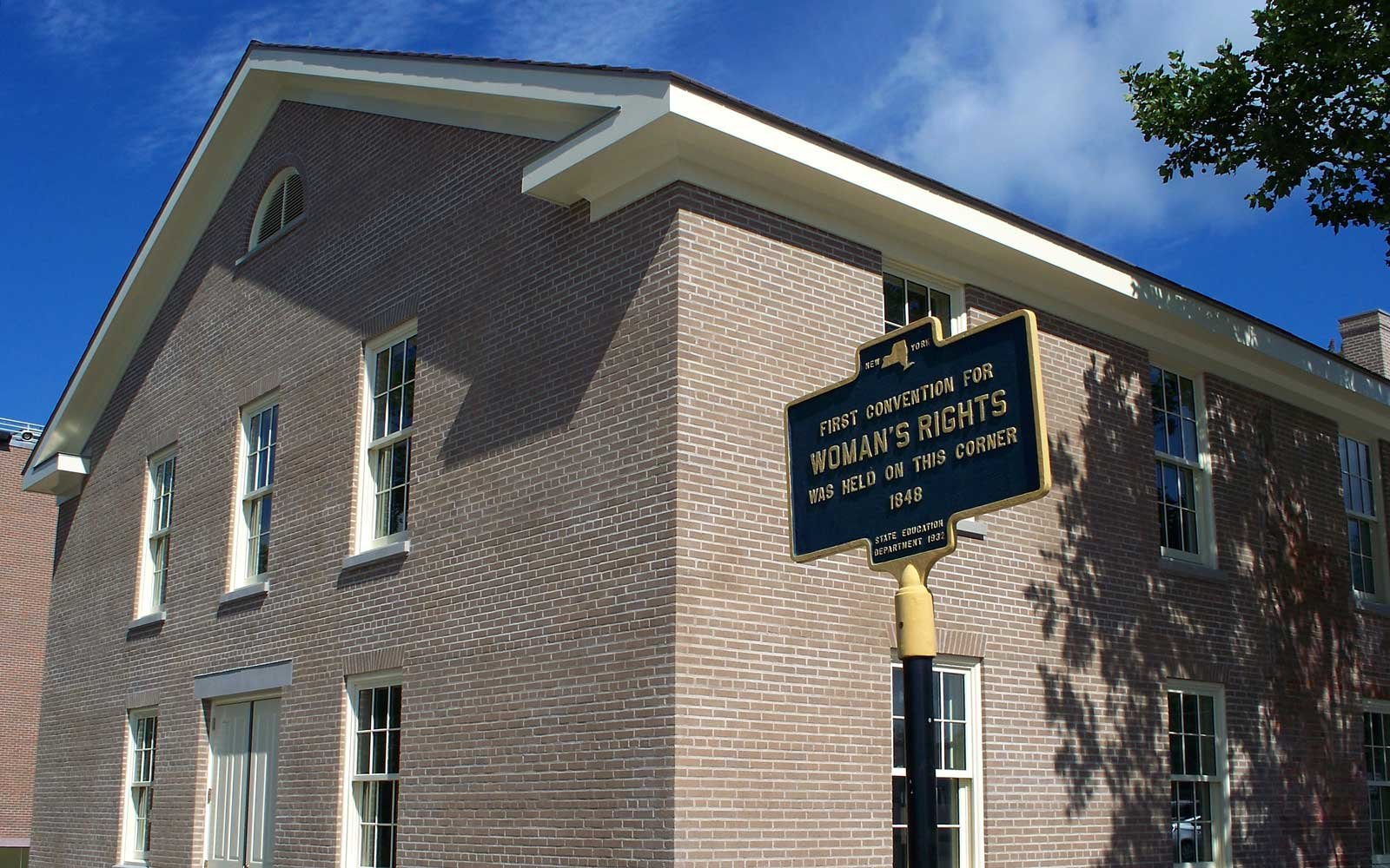 First Convention for Woman's Rights - Wesleyan Chapel, Seneca Falls, NY