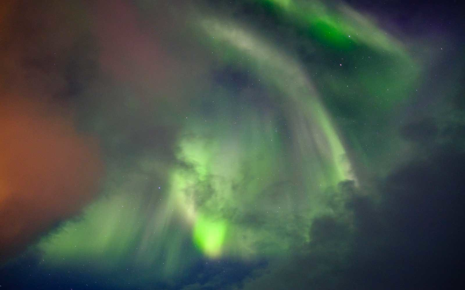 Northern Lights, Aurora Borealis, Iceland