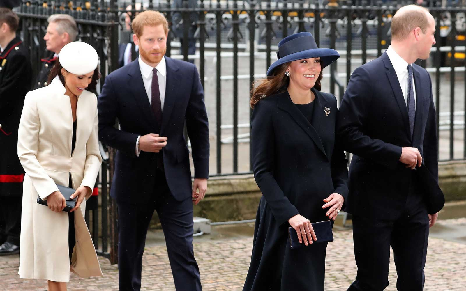 Meghan Markle And Kate Middleton Wore Matching Shoes And