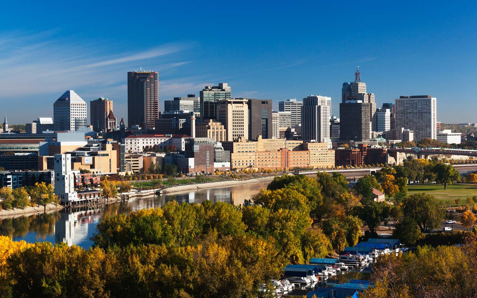 Minneapolis, St. Paul, Minnesota, Skyline