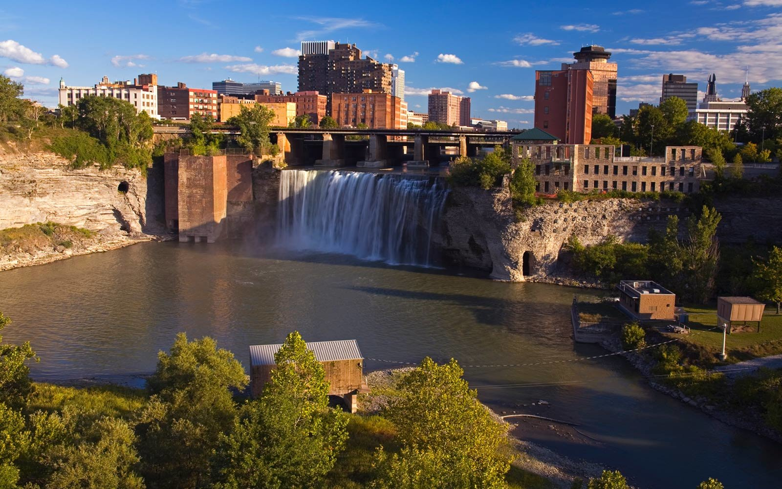 Rochester, New York, High Falls