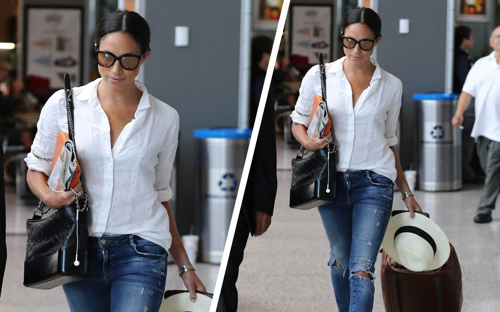 Meghan Markle at Airport in Austin