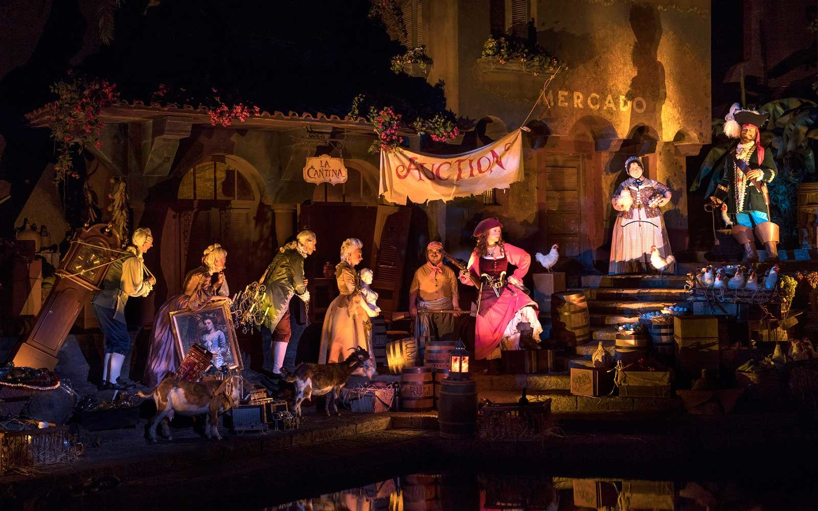 Walt Disney World's Pirates of the Caribbean Ride update
