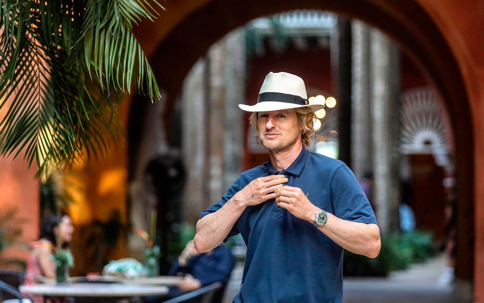 Owen Wilson causes hotel evacuation, sets off alarm with cigarette
