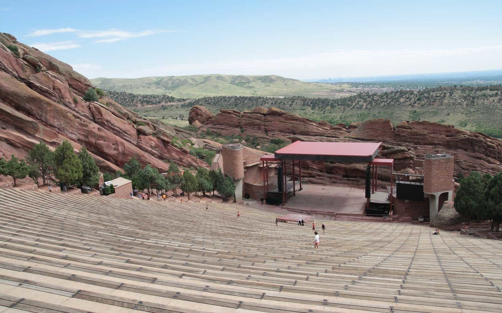 Red rocks amphitheatre, Denver, Colorado.