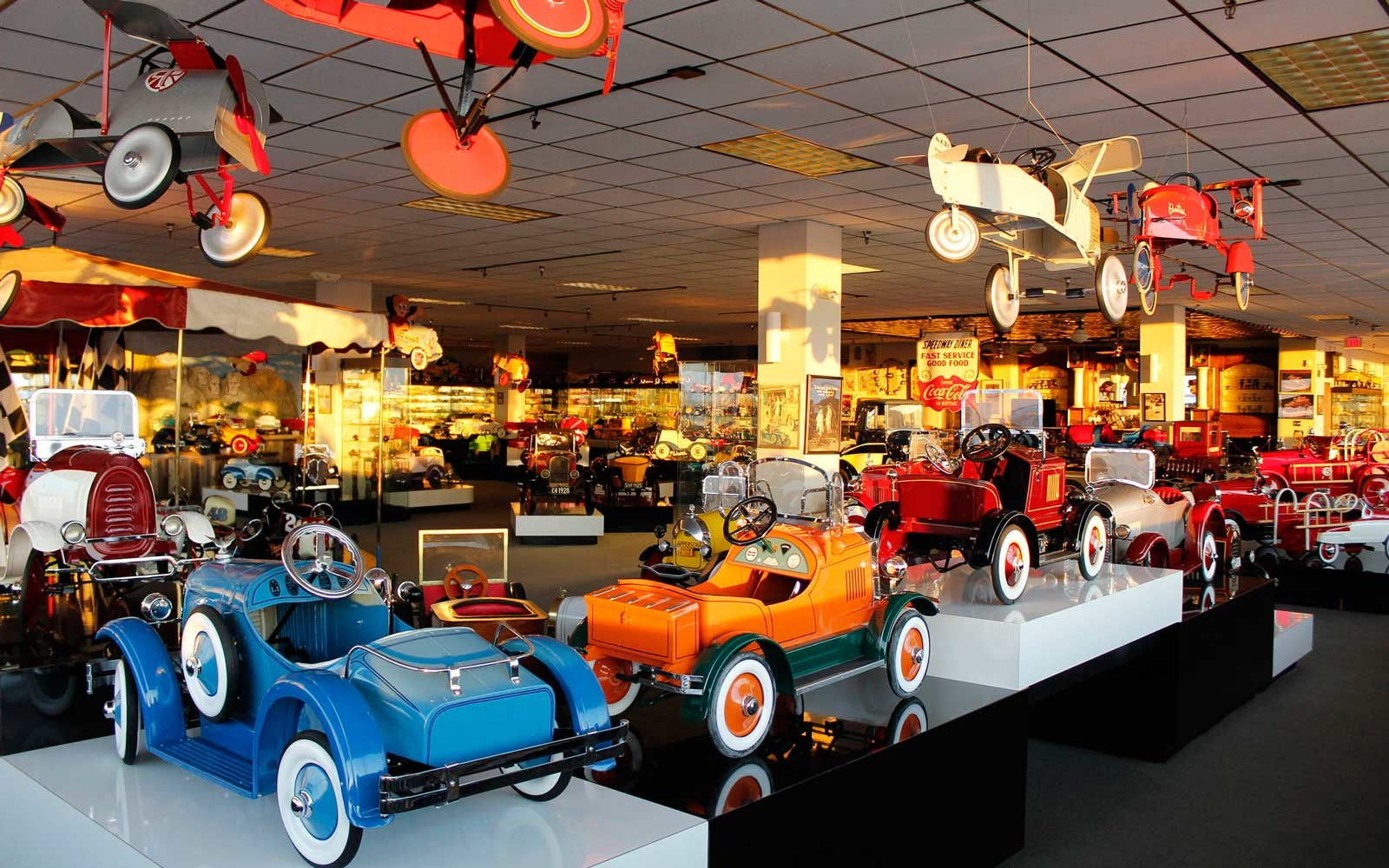 3rd Floor Pedal Cars, Museum of American Speed