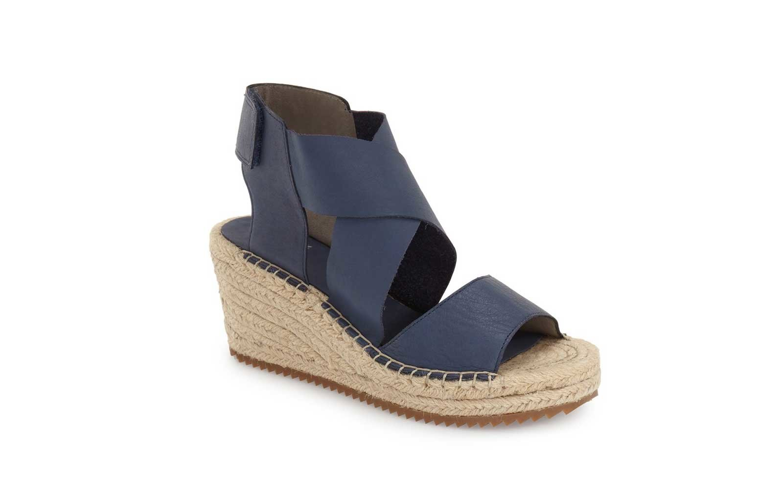 e1d6486620c86c Walkable Wedges  Eileen Fisher  Willow  Espadrille Wedge Sandal. eileen  fisher womens comfortable walking sandals. Courtesy of Nordstrom