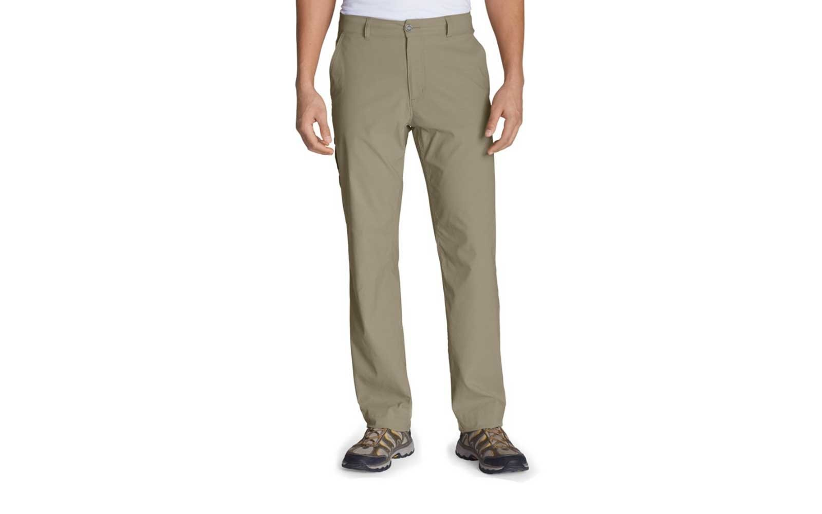 eddie bauer mens travel pants