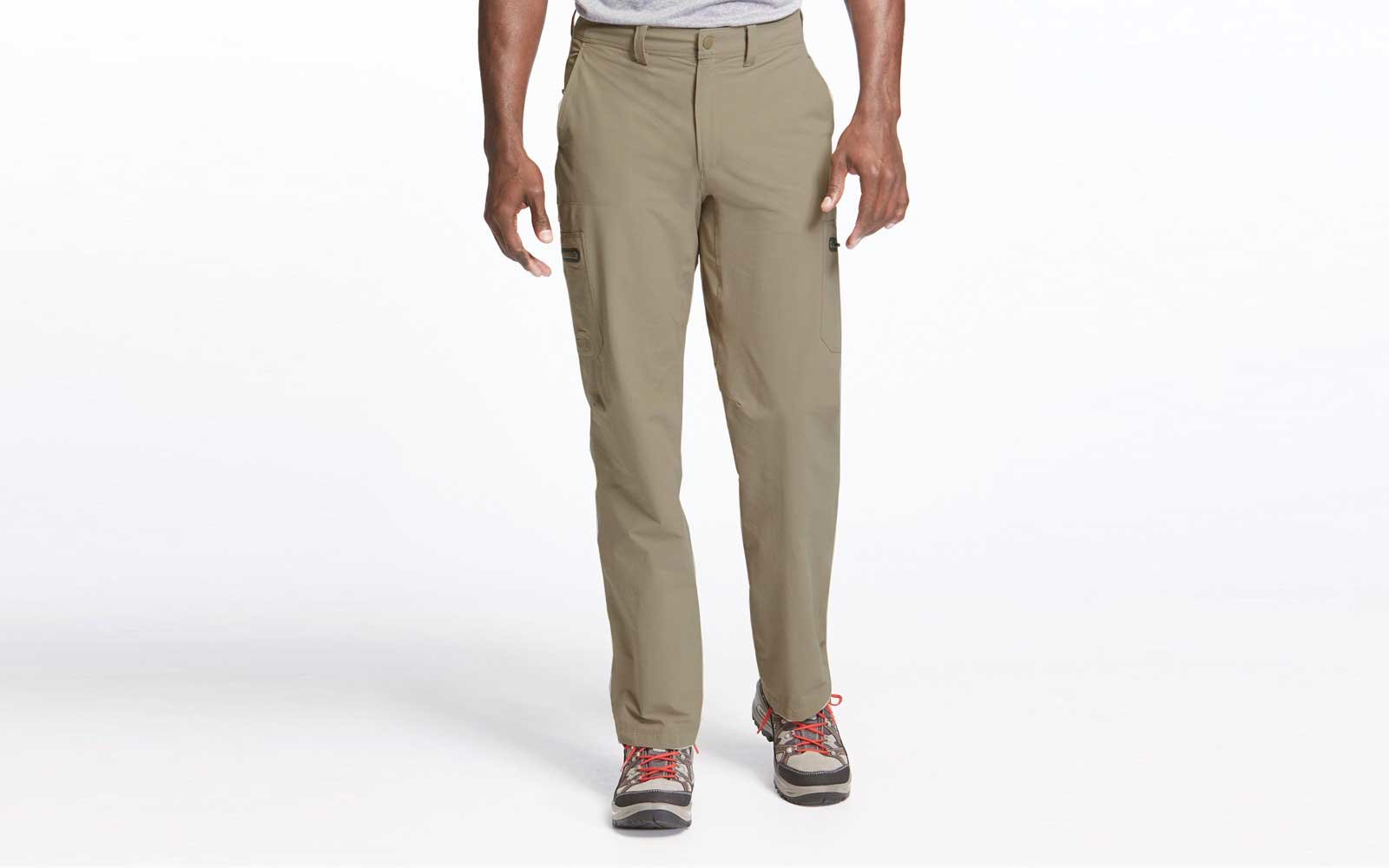 llbean mens travel pants