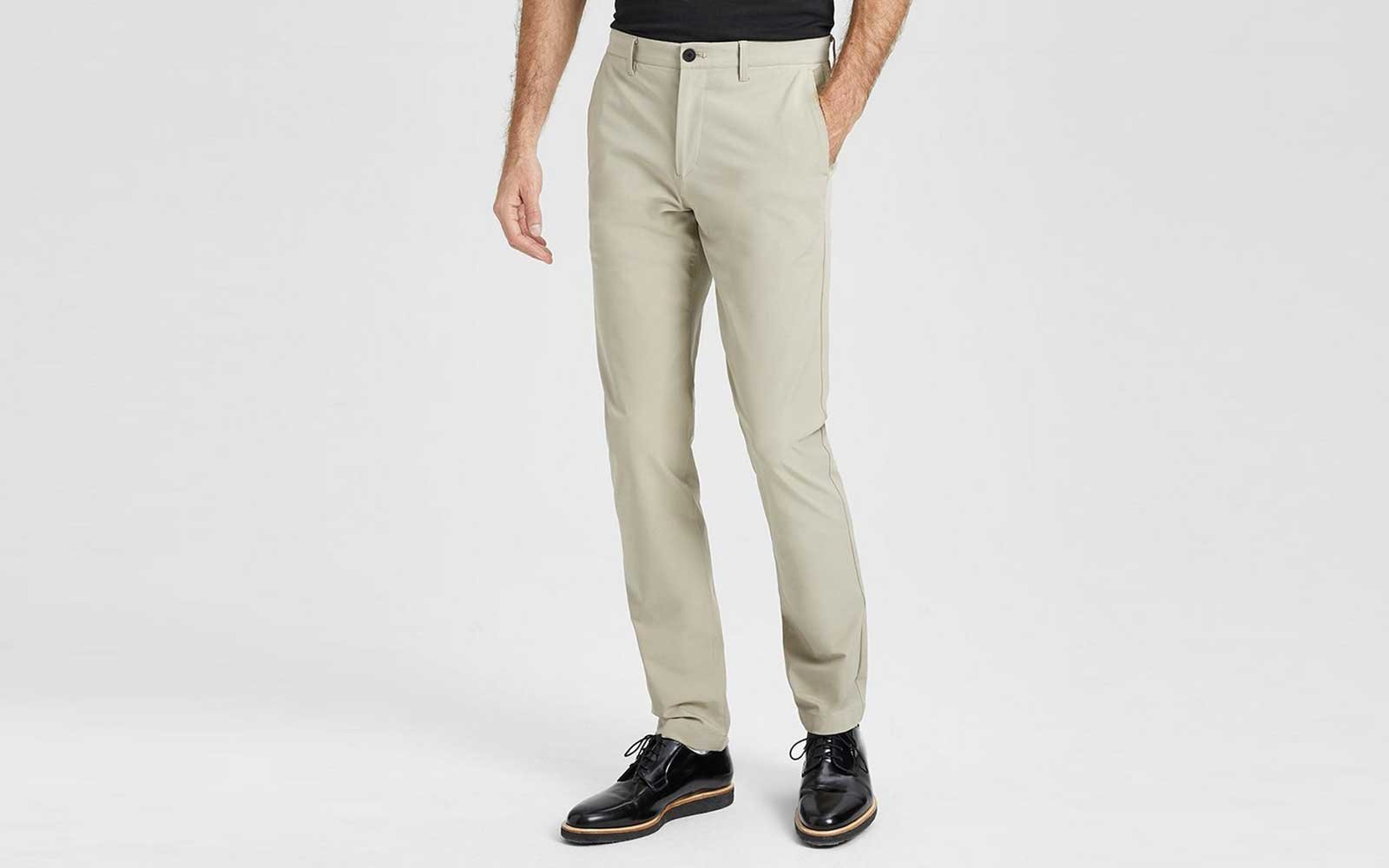 theory mens travel pants