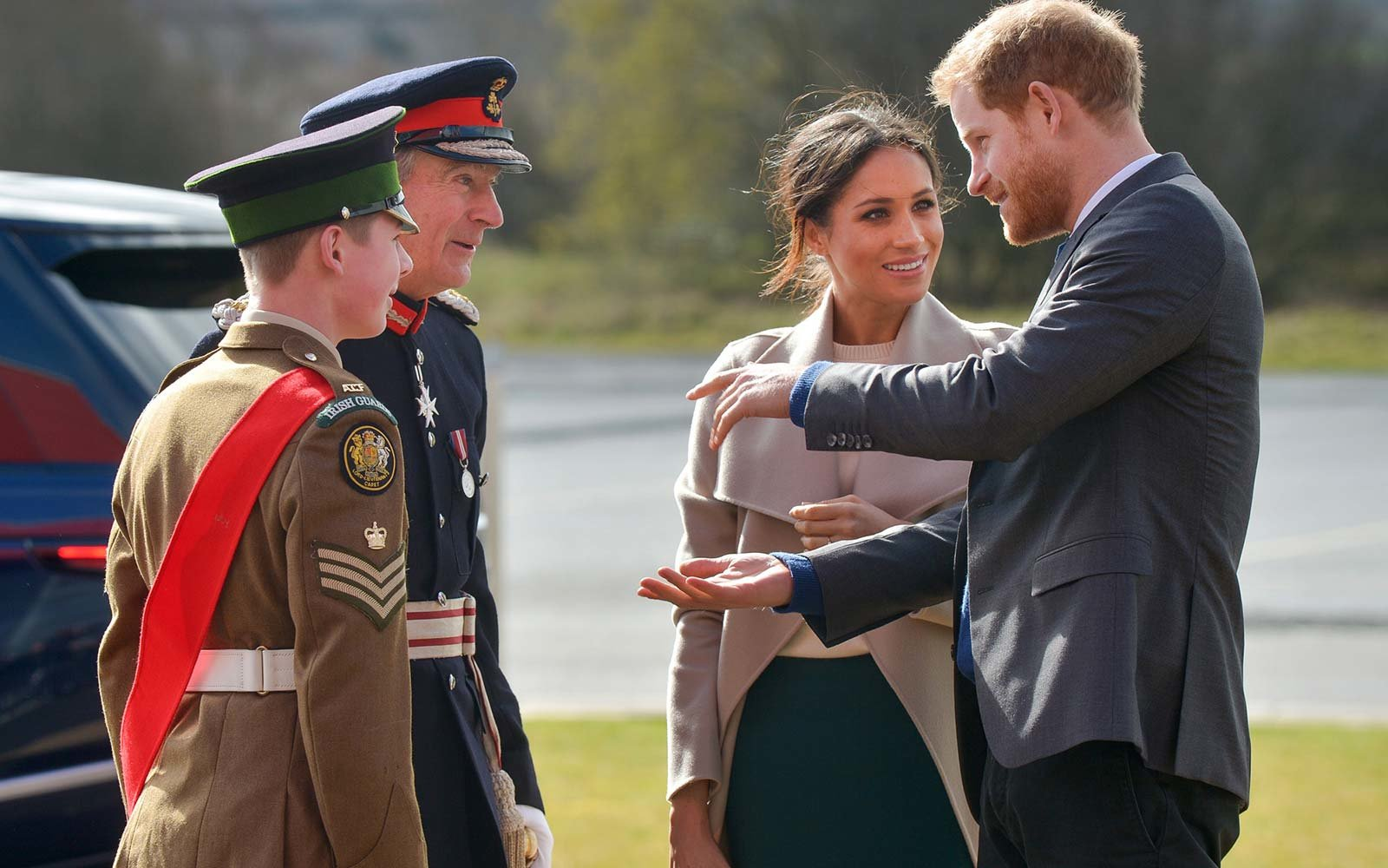 Northern Ireland Royal Visit Prince Harry Meghan Markle