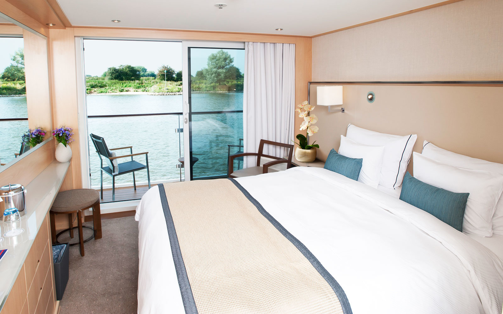 Viking River Cruise state room
