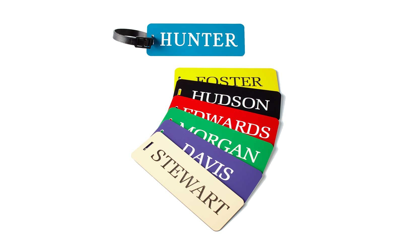 Neiman Marcus Personalized Luggage Tag