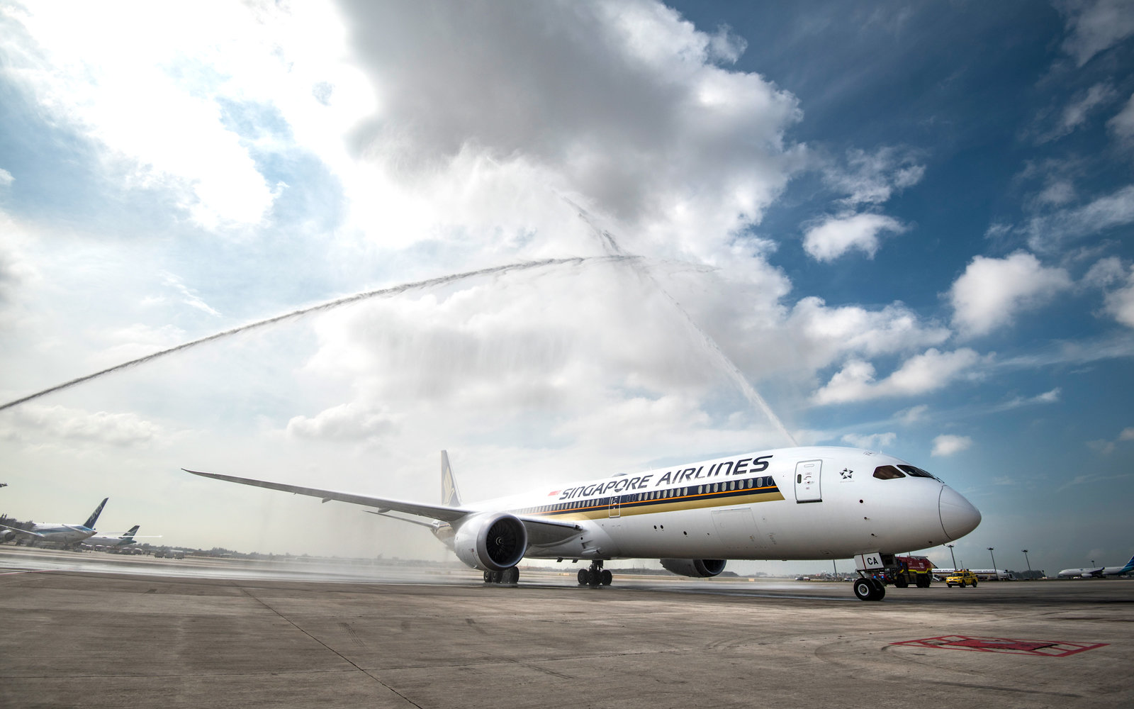Singapore Airlines new Boeing 787-10